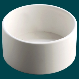 29046 Duncan Bisque Straight Bowl