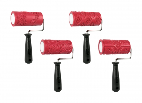 Amaco 4inch Texture Roller Pack4