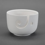 Duncan Bisque 329242 Yarn Bowl