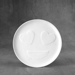 Duncan Bisque 37098 love plate