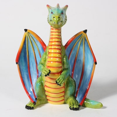 Mayco Bisque Dragon Finished Piece