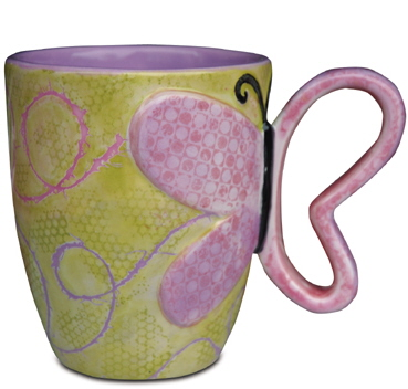 Mayco Bisque FPButterflyMug