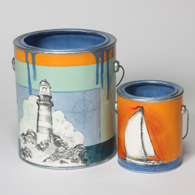 Mayco Bisque FP Lighthouses ailboatpaintcans