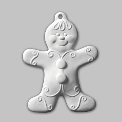 Mayco Bisque MB1312GingerBoyOrnament