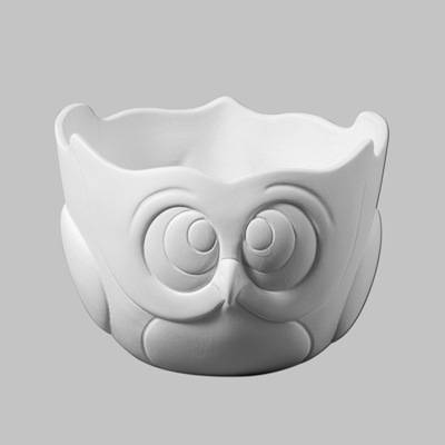 Mayco Bisque MB1350 Owl Bowl