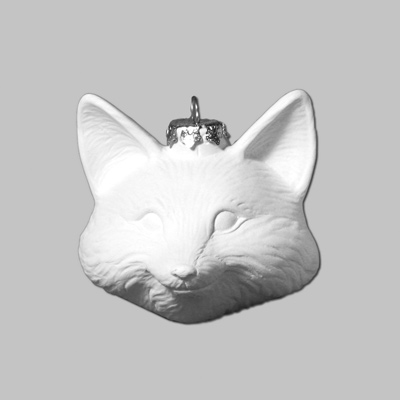 Mayco Bisque MB 1399 Fox Ornament