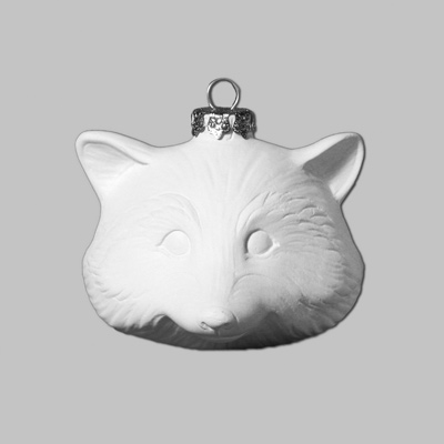 Mayco Bisque MB1400 Racoon Ornament