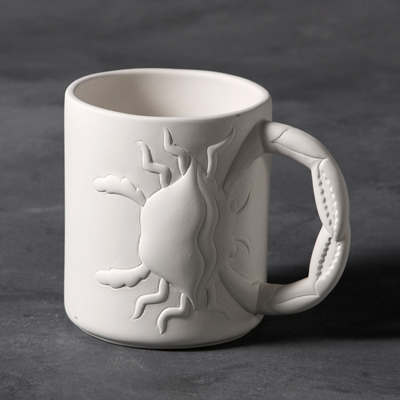 Mayco Bisque MB1447 Crab Mug