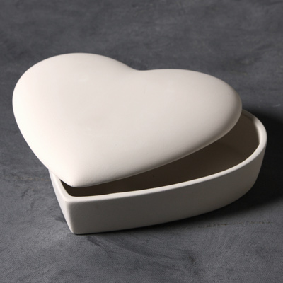 Mayco Bisque MB1451 Classic Heart Box
