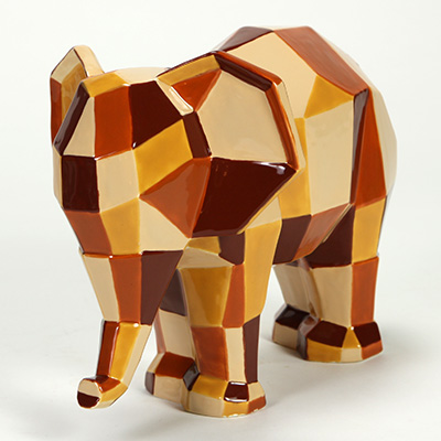 Mayco Bisque MB1459 Faceted Elephant FP