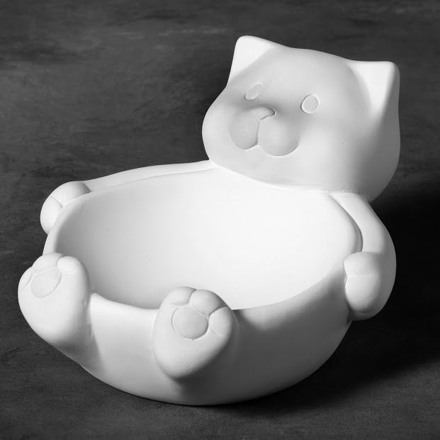 Mayco Bisque MB1465 Kitty Bowl