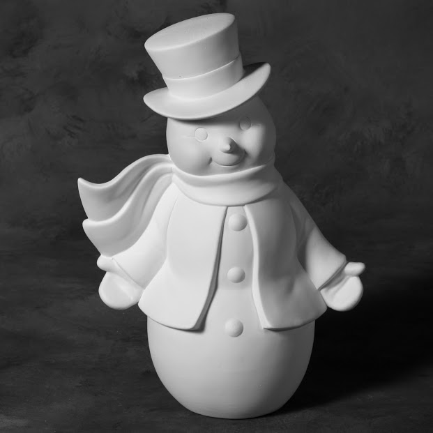 Mayco Bisque MB1473 Vintage Snowman