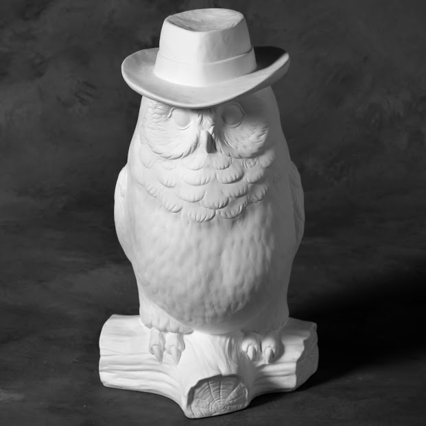 Mayco Bisque MB1475 Barney Owl