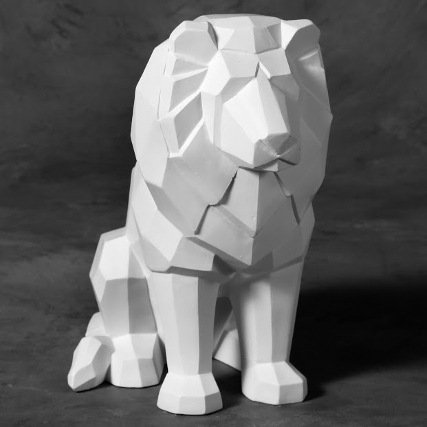 Mayco Bisque MB1476 Faceted Lion
