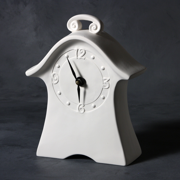 Mayco Bisque MB1490 Whimsical Clock