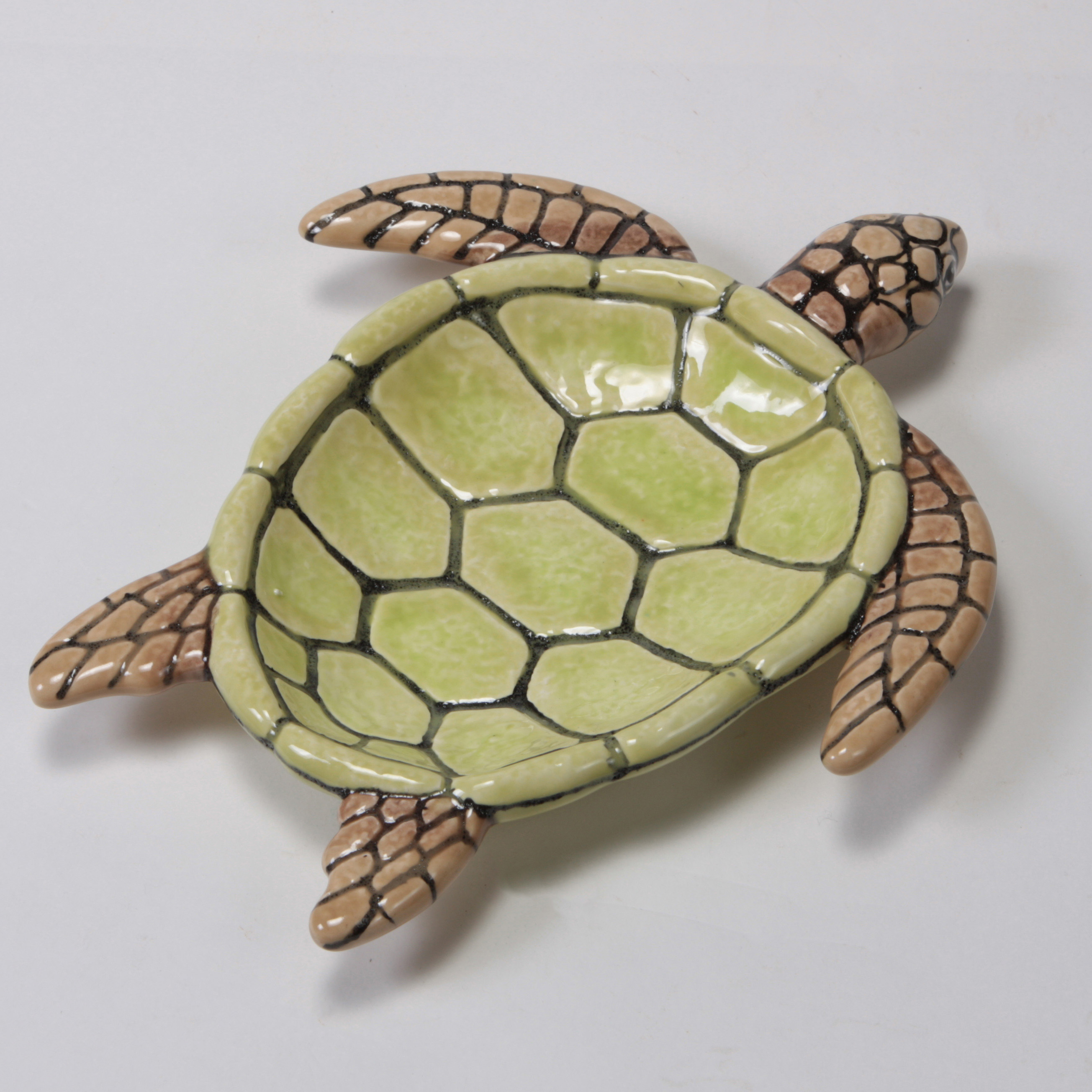 Mayco Bisque MB1509 turtle dish FP