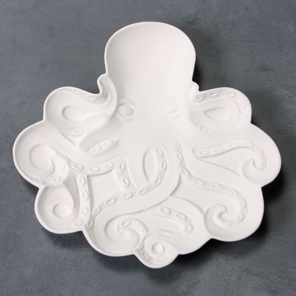Mayco Bisque MB1510 Octopus Dish