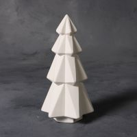 Mayco Bisque mb1497 faceted tree 7 inch