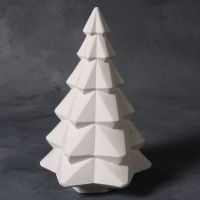 Mayco Bisque mb1498 faceted tree 10 inch