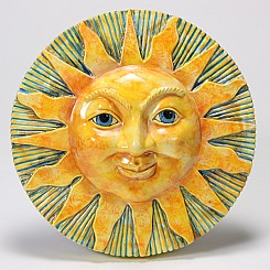 Mayco Ceramic Mold CD Sun Face PlaqueFP