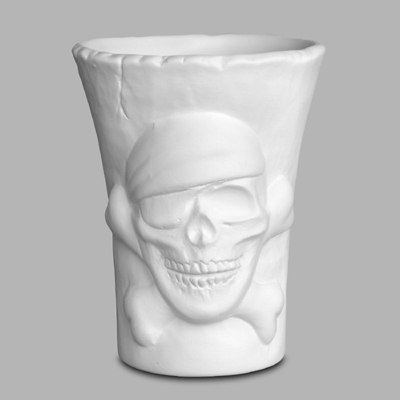 Mayco Bisque MB1029skullcontainer