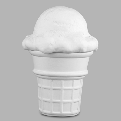 Mayco Bisque MB870icecreamconebox