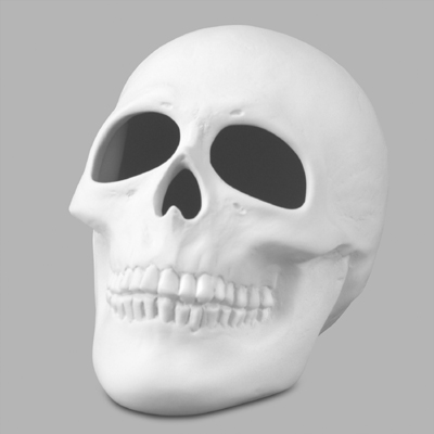 Mayco Bisque MB986skull