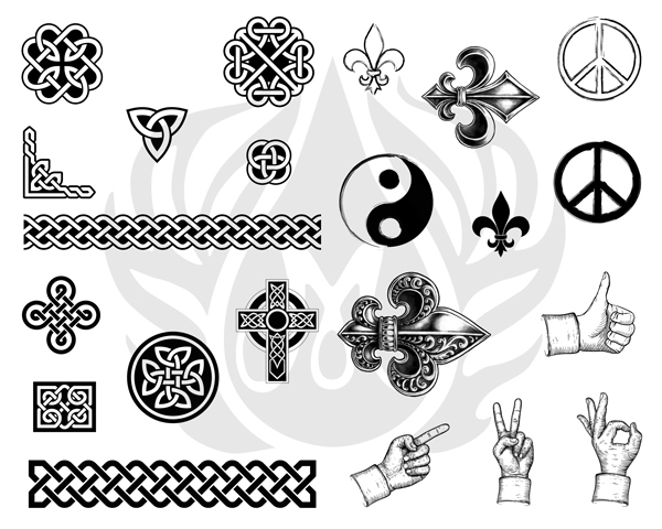 Mayco Silk Screens dss0123Symbols