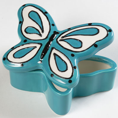 duncan bisque fp butterfly box