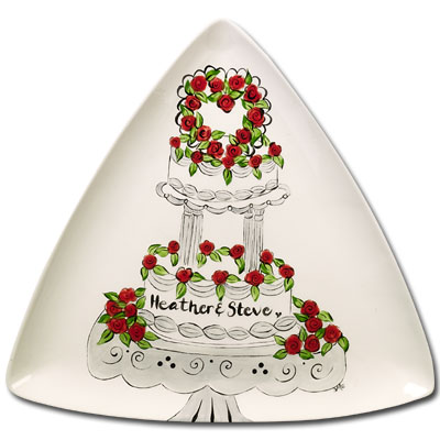 duncan bisque fpweddingplate